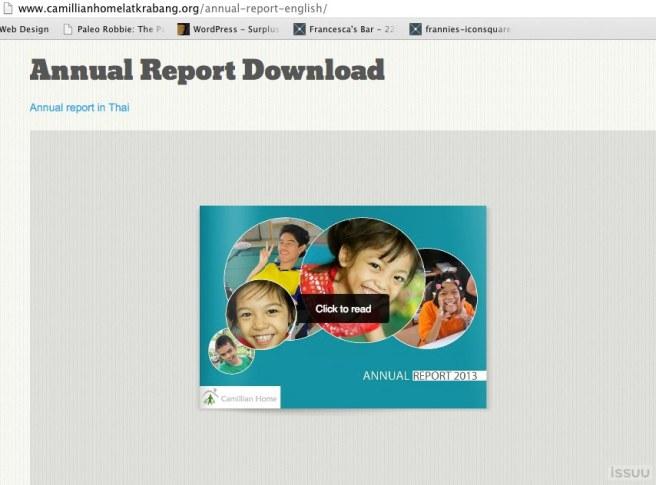 Annual Report | Camillian