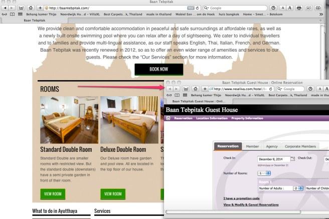 Baan Tebpitak Guest House _ Online Reservation